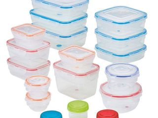 lock n lock Easy Essentials Color Mates 36 Pc  Food Storage Container Set