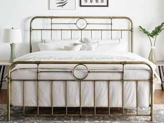 Antique Bronze   Classic Antique Finish Metal Pipe Bed Retail 436 99