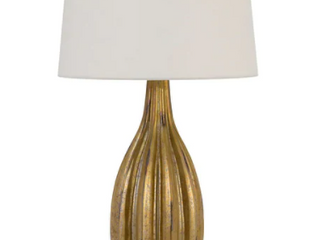 Morlaix French Gold Glass Table lamp W