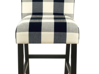 Porch   Den Minna Black Cream Plaid   UPH