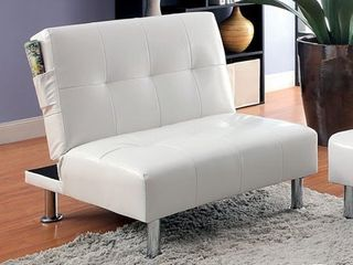 Bulle Contemporary Chair  White