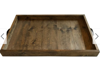 Wooden Farmhouse Style 19 5  Serving Tray