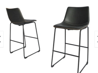 Best Quality Furniture  2 Charcoal BarStools