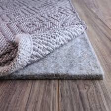 FiberSoft Extra Thick 100 percent Felt Rug Pad for All Floors   Grey Retail 91 49