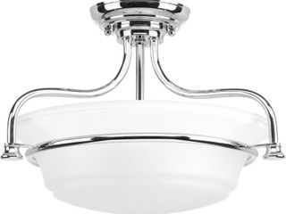 Tinsley Semi Flush Convertible   Retail 85 81  SEE PHOTOS