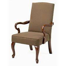 Copper Grove Casalis Cherry Finish Gooseneck Accent Chair   Retail 183 99