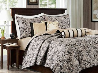 Home Essence Whitman Quilted Coverlet Set   Full Queen