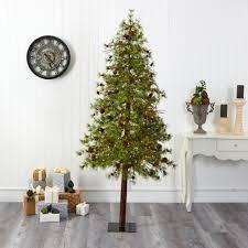 Wyoming Alpine Christmas Tree w  200 Clear lED lights