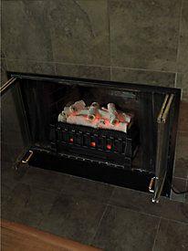 Quartz Electric Fireplace Insert 1000 1500 Watts Retail 147 99