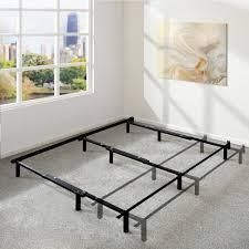 Twin Adjustable 7 Inch Metal Platform Bed Frame  Compatible with Twin  Full  and Queen Size