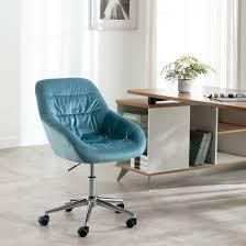 Blue Home Office Swivel Desk Task Chair