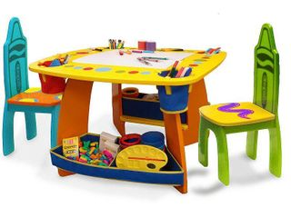 Crayola Wooden Table