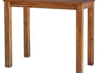 Amber Tiburon Amber Wood 36 inch Tall Rectangular Table Retail 332 49