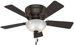 Premium Bronze Hunter 42in Ceiling Fan