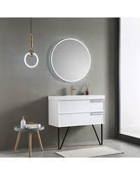 32in Round Fogless lED Mirror