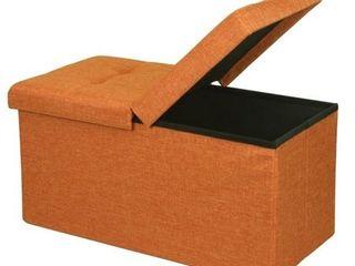 Crown Comfort Modern   Contemporary Storage Ottoman Bench w  Smart lift Top