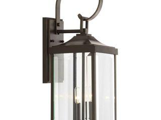 Gibbes Street Aluminum 2 light Wall lantern