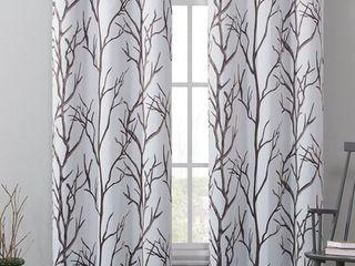 Keyes Blackout Single Curtain Panels   Set of 2