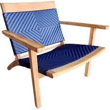 Chic Teak Barcelona Teak Wood Patio lounge   Dining Chair