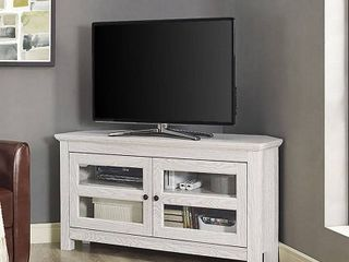 Walker Edison Wood Corner TV Stand