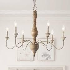 The Gray Barn Blueberry Butte Belgian White French Country Chandelier