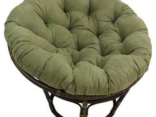 Sage Green  Blazing Needles 44 inch Microsuede Papasan Cushion