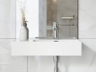 Swiss Madison St  Tropez Vessel Sink in Glossy White