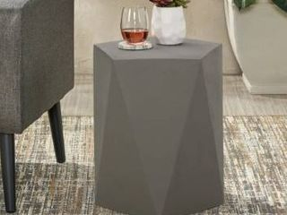 Apollo Outdoor Modern Side Table by Christopher Knight Home  Retail 85 49