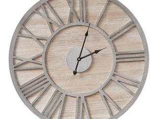 Mason Wall Clock Natural  Wall Clocks