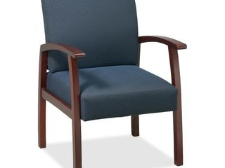 lorell  Deluxe Guest Chair  1 Each  Midnight Blue
