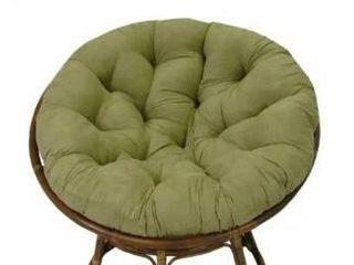 Blazing Needles 44 inch Microsuede Papasan Cushion   Sage Green
