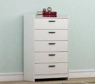 White  Carbon loft Parkes 5 drawer Wooden Chest  Retail 218 49
