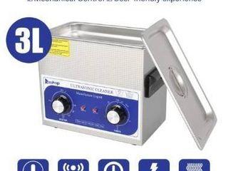 ZOKOP 3l 40kHz 110V 60Hz Stainless Steel Ultrasonic Cleaner  Retail 88 49