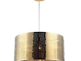 CHlOE lighting SIERRA Farmhouse 1 light Gold Ceiling Pendant 15  Wide