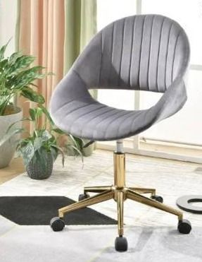 OVIOS Cute Desk Chair Plush Velvet Office Chair for Home or Office Task Chair for Computer Desk  Retail 147 49