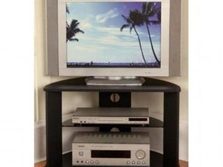 4D CONCEPTS CORNER TV CART  BlACK