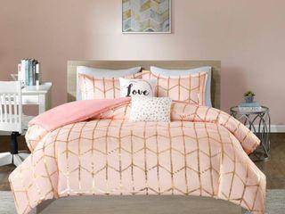 Blush Arielle Brushed Comforter Set  Twin Twin Xl  4pc