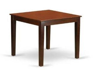 Mahogany Square Table