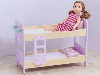 Olivia s little World   Modern Nordic Princess Doll Bunk Bed