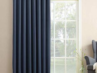 Set of 4 Sun Zero Bartlett Grommet Room Darkening Extra Wide 100  Patio Panel