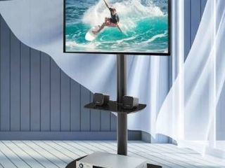 Black  Height and Angle Adjustable TV Stand  Retail 151 49