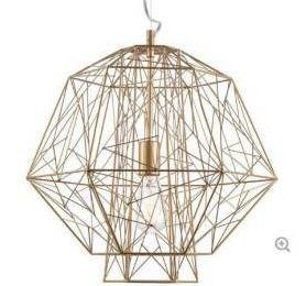 Zeus Pendant lamp   Gold   Retail 186 49