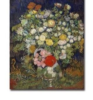 Bouquet of Flowers in a Vase  1890 by Vincent Van Gogh Gallery Wrapped Canvas Giclee Art  30 in x 24 in  Retail 174 99