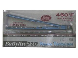BaBylissPRO Nano Titanium plated Ultra thin Straightening Iron Retail 99 99