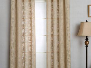 50 x95    lINEN  Miller Curtains MORRIS Grommet Top Panel