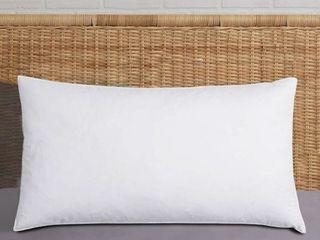 Harper lane Jumbo Size King Bed Pillow   White