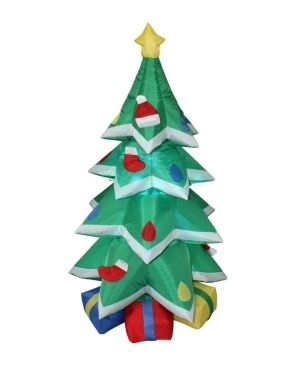 6FT Christmas Tree with Snow Inflatable