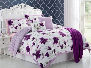 Ellen Tracy Monterey 6 piece Comforter Bedding Set Retail 99 98