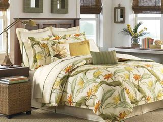 Tommy Bahama Home Birds of Paradise Queen 4 Pc  Comforter Set