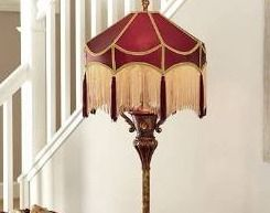 Downton Abbey Grantham 66  H Grand Floor lamp Retail 271 99
